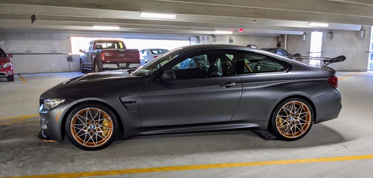 Gorgeous M4 GTS parked in my office garage this morning in ...