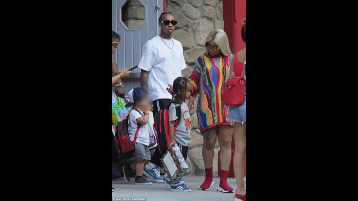 Blac Chyna and Tyga, they take son King Cairo to his fifth birthday