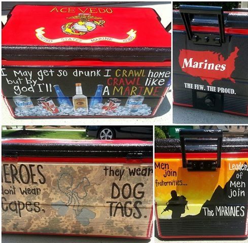 my boyfriends marine cooler!