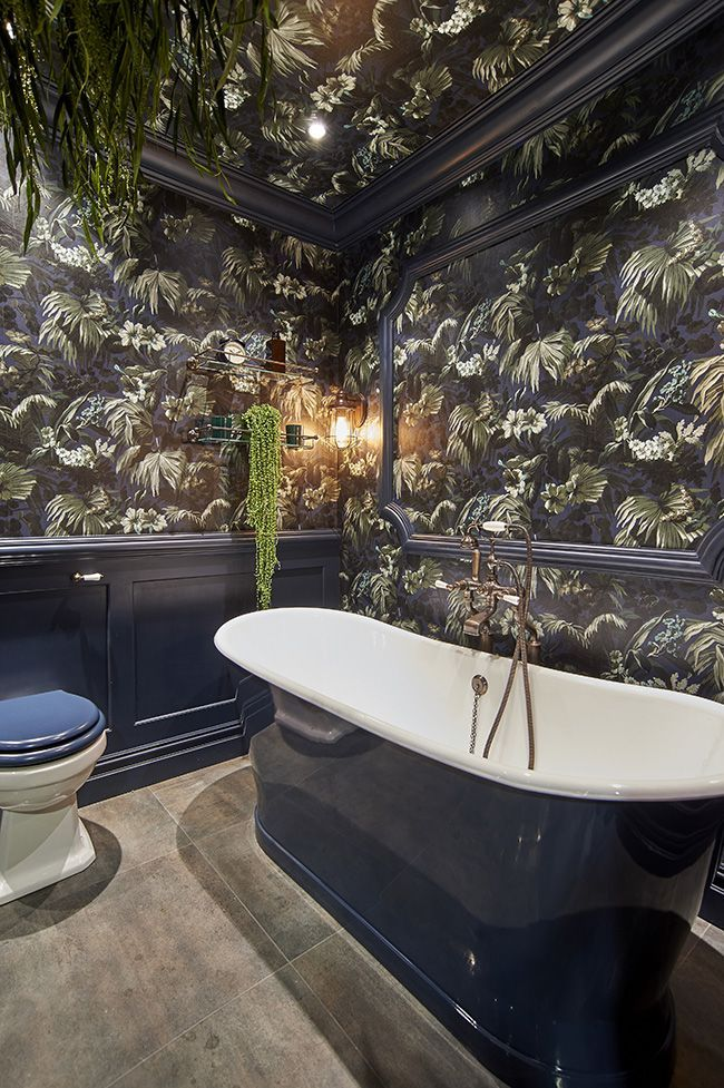 Bold Bohemian Bathrooms from House of Hackney and CP Hart – Darryls bathroom