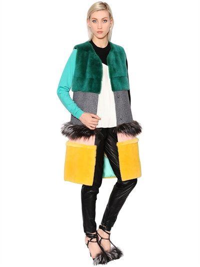 FUR & SHEARLING - VIONNET - LUISAVIAROMA.COM - WOMEN'S CLOTHING - FALL…