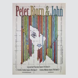 Peter Bjorn And John Print