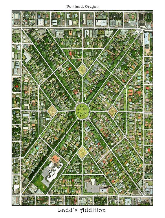 PORTLAND OREGON, Portland Map, Map of Portland, Oregon, Watercolor Map,  Hand Painted Maps, Custom Maps on Etsy, $25.00