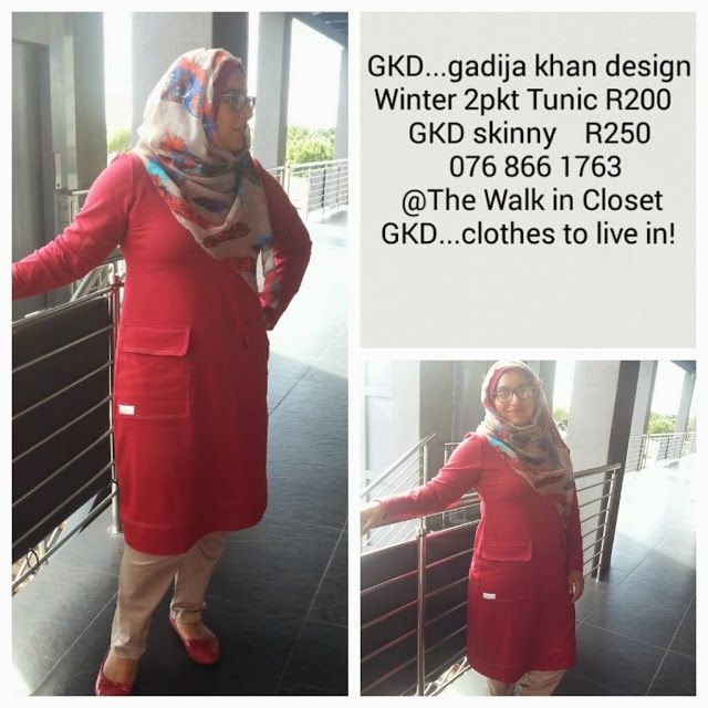 GKD...gadijakhan design. Clothes to live in! Winter tunic ideal fir hijab muslimah