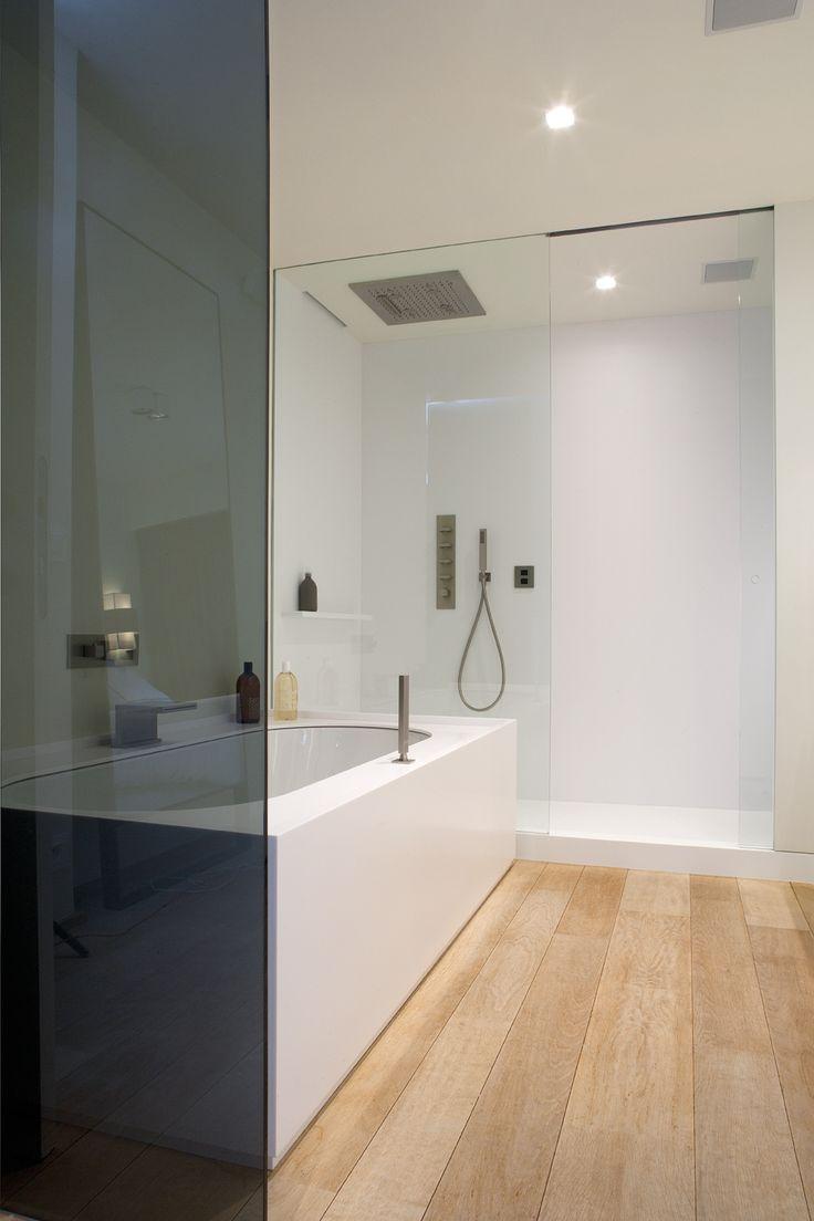 Gemini 59 inch modern single sink vanity set free shipping today - Bathroom Corian I Deco Lust