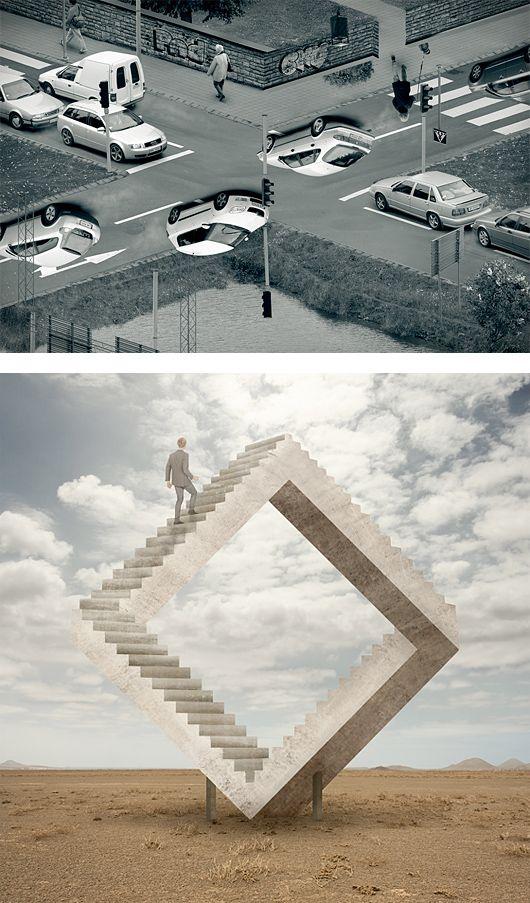 Illusions: Photo Manipulation Series by Erik Johansson | Inspiration Grid | Design Inspiration