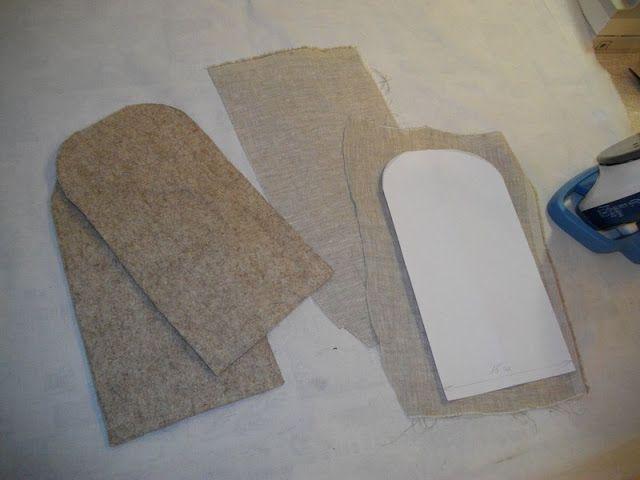 Маленькие хитрости портняжного ремесла.: Подушечка для ВТО (глажки) одежды.
