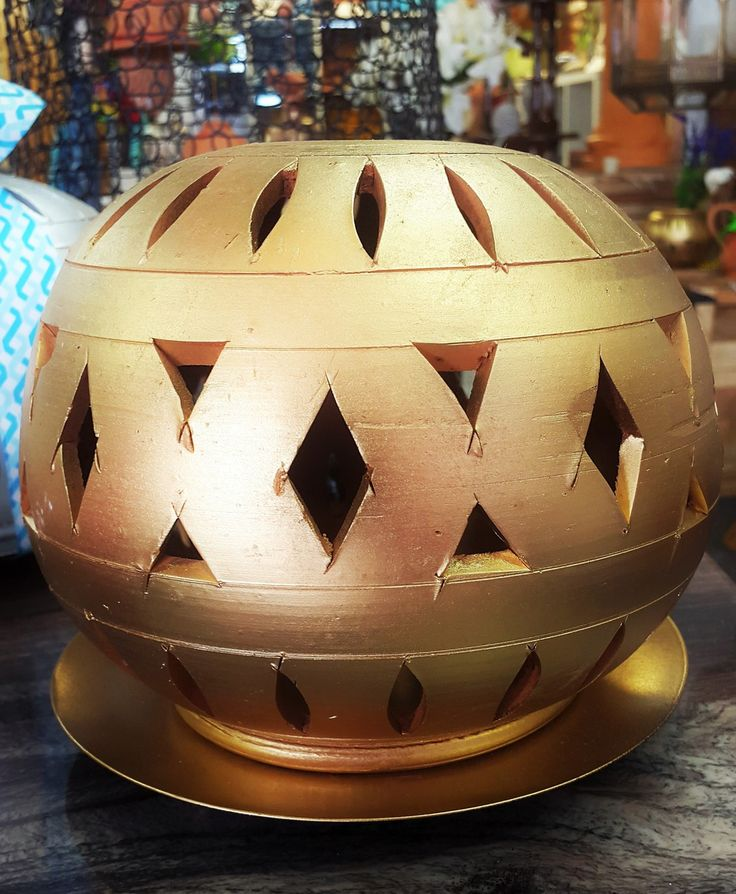 Terracotta Candle Ball - KABCHI'S HOMEWARES