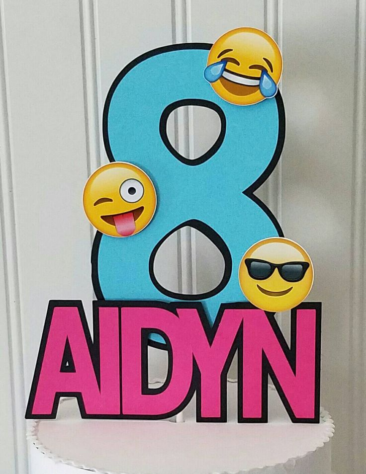 Emoji Cake Topper, Emoji Topper, Emoji Party, Emoji Party supplies, Emoji cake, Emoji Birthday, Emoji girl party, Emoji by PaperedAffair on Etsy https://www.etsy.com/listing/479308767/emoji-cake-topper-emoji-topper-emoji