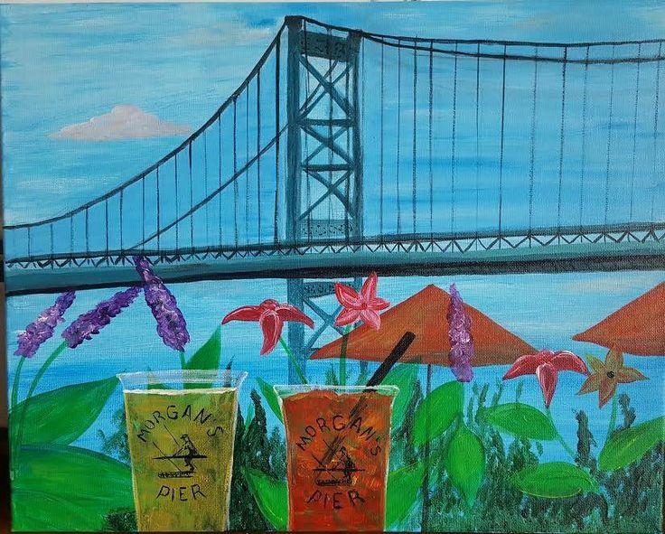 """Morgans Pier"" Artist: Danielle DiTaranto"