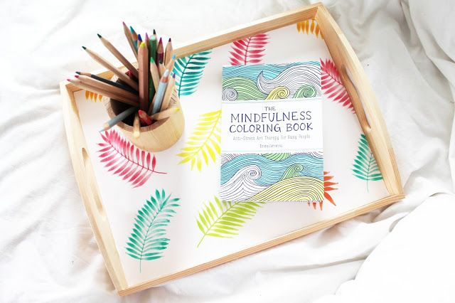 LINDSEY CRAFTER : Five Minute DIY: Decoupage Tray
