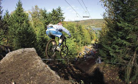 Weekend Pick: Snowshoe Gravity Series Downhill Mountain Bike Race #WV #SnowshoeMountainResort