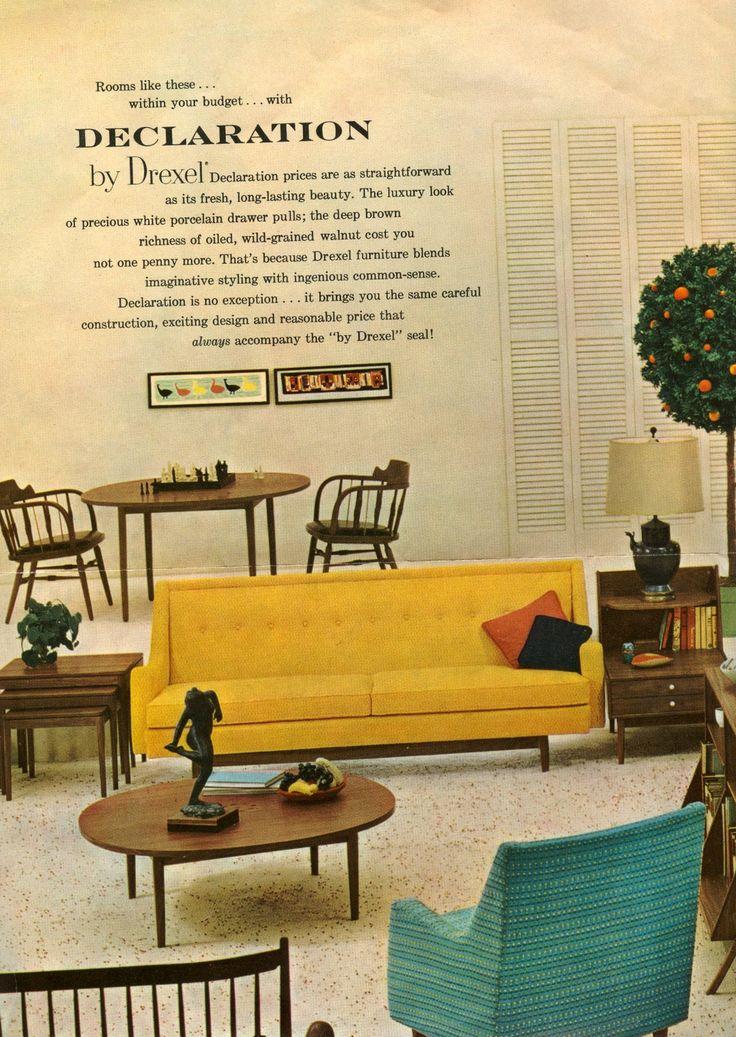 3200 besten vintage mid century design ideas bilder auf. Black Bedroom Furniture Sets. Home Design Ideas