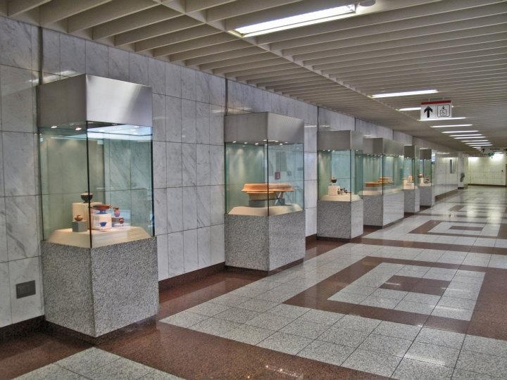 Panepistimio Metro Station, Korai Sq., Athens