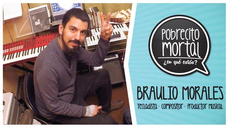 Braulio Morales Tecladista en Pobrecito Mortal