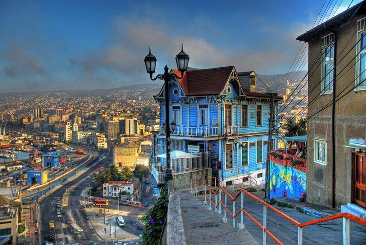 Valparaíso, at Ascensor Artilleria