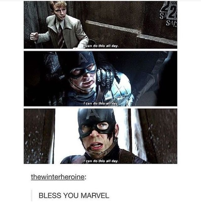 That right there is just one of the reasons why Steve Rogers is one of the most beautiful people in Marvel