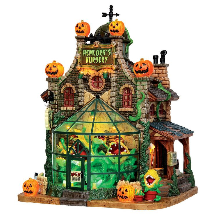 halloween village menards