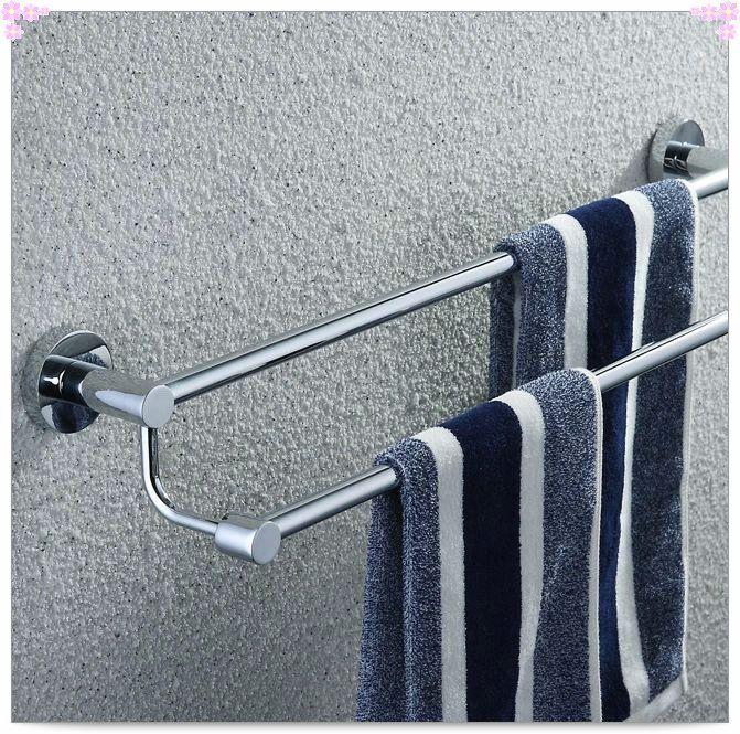 Купить товарБесплатная доставка 304 из нержавеющей стали 50 см длина ванная комната вешалка для полотенец, полка для полотенец стекла бар раковина в категории Вешалки для полотенецна AliExpress.            &