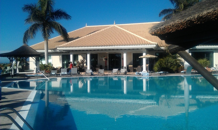 Pool red level of Tenerife Palacio de isora (Gran Melia hotel), Guia de Isora, Tenerife #Canarias