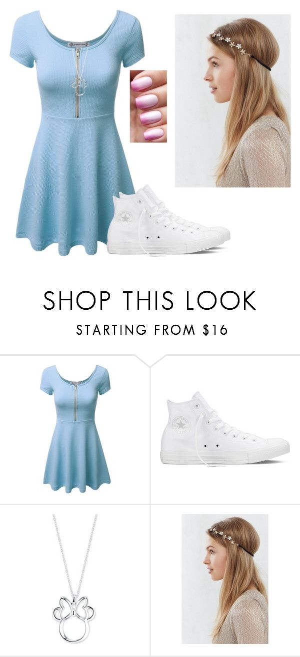 """I see"" by hannahmcpherson12 ❤ liked on Polyvore featuring Converse, Disney, women's clothing, women, female, woman, misses and juniors"
