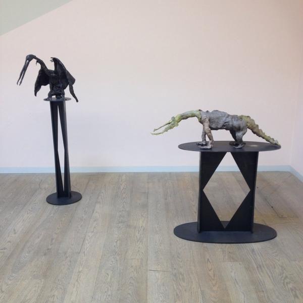 Francis Upritchard - exhibition at #Whitechapel #London