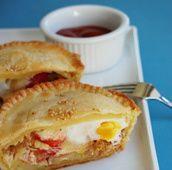 Bacon & Egg Pie - Australian breakfast
