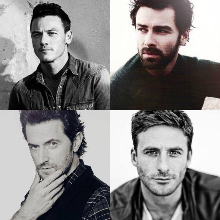 Luke Evans, Aidan Turner, Richard Armitage and Dean O'Gorman :)