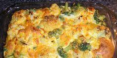 Zapeceni karfiol i brokule