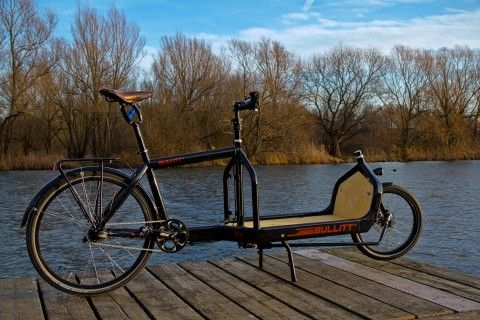 These cargo bikes are growing in popularity around Copenhagen, more nimble and speedy than the classic Christiania bike.