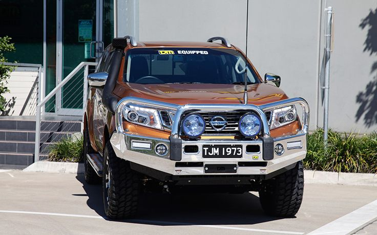 TJM Signature Alloy Bull Bar Suit Nissan Navara NP300 | TJM Australia | 4x4 Accessories