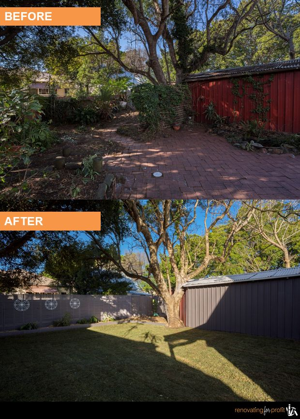 #facade #outdoorliving #renovation See more exciting projects at: www,renovatingforprofit.com.au