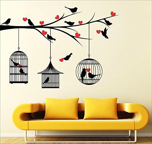 Living Room Bedroom Decorative Stickers Amazon