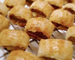 Homemade Sausage Rolls Recipe - Party food