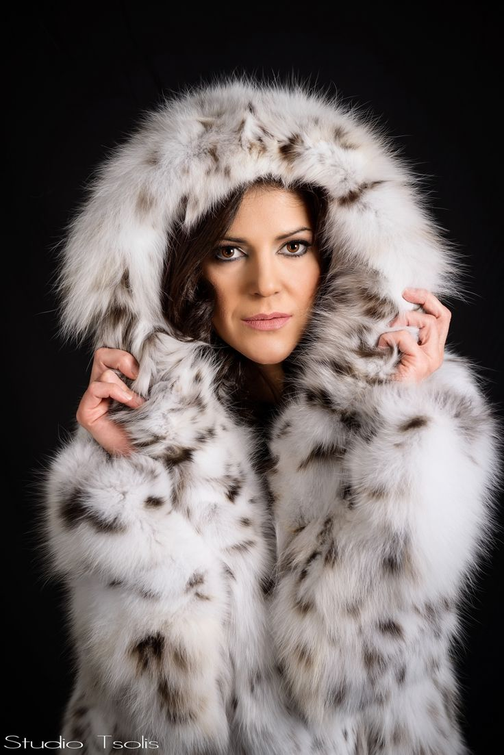 The exclusive and luxurious lynx fur jacket.