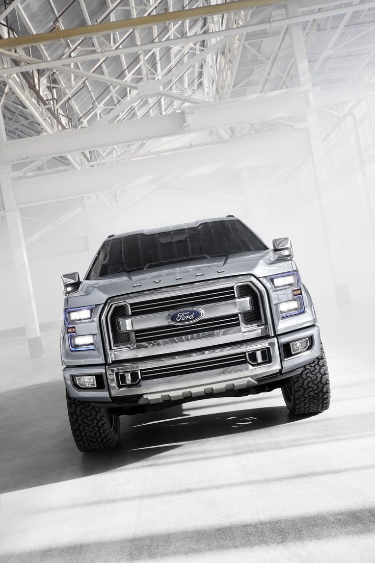 Monster ford atlas pickup truck concept now that s a bold front end