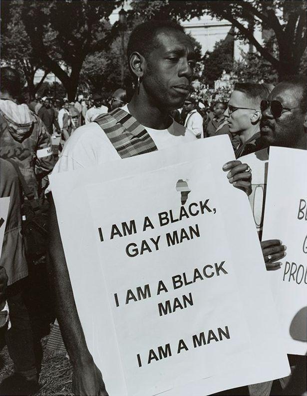 I Am a Man, Million Man March, Washington, D.C., Roderick Terry, October 16, 1995