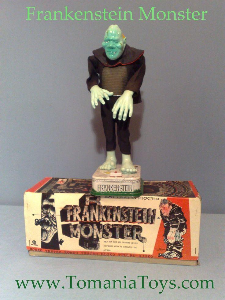 Nomura Frankenstein Monster BO = Battery Operated TN Nomura Toys Made in Japan - Rosko Tested