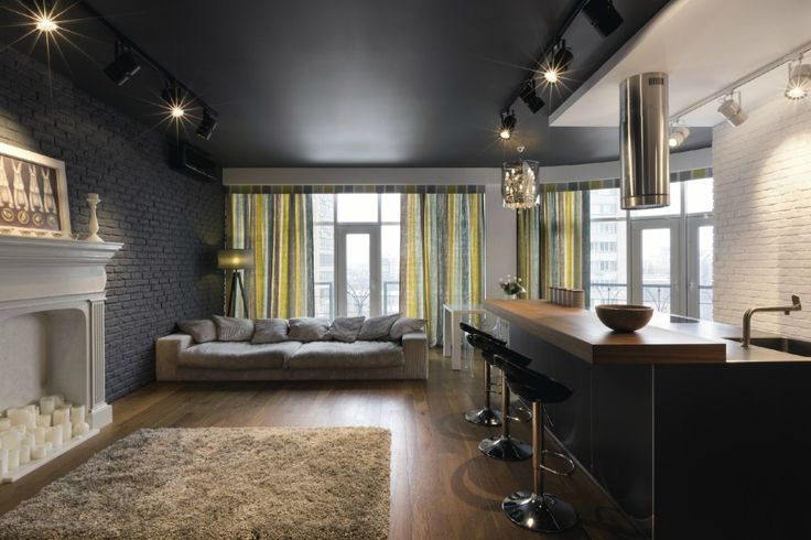 Unusual apartment - one of the interior design trends (4)