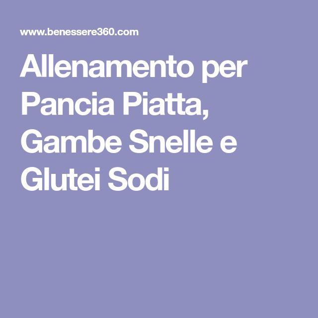 Allenamento per Pancia Piatta, Gambe Snelle e Glutei Sodi