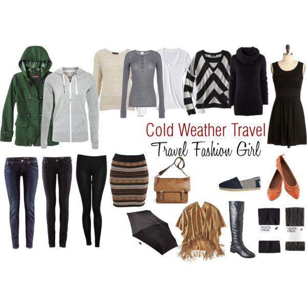 Si viajo en el invierno, estan los trajes que uso. Sería mantenerme caliente. Para el día y la noche.