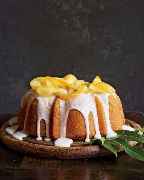 Meyer Lemon-Yogurt Cake /