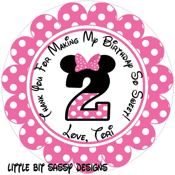 58 Best Minnie Mouse Party Images On 2nd Birthday