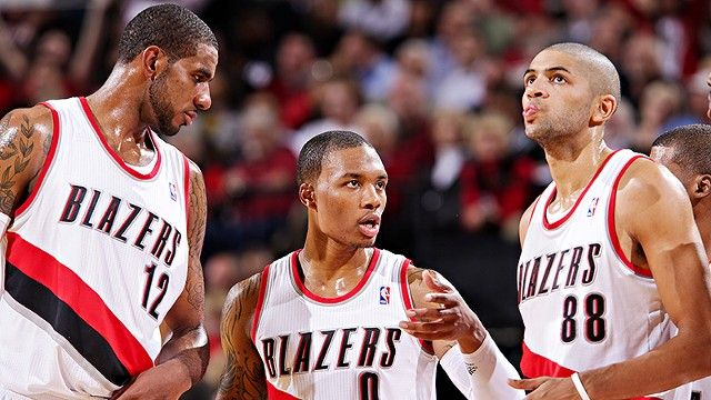 The Portland Trail Blazers' refurbished roster