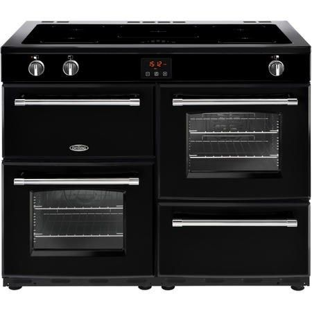 Buy Belling Farmhouse 110Ei 110cm Electric Range Cooker With Induction Hob Black 444444154 from Appliances Direct - the UK's leading online appliance specialist