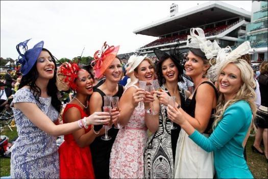 Melbourne cup's fashion