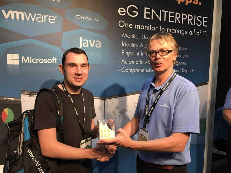 eG Innovations: We had a great show at VMworld 2016 Europe