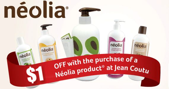 Save $1 off Neolia Products at Jean Coutu  *Coupon Expires on Dec 31*  http://womenfreebies.ca/coupons/save-on-neolia-jean-coutu/