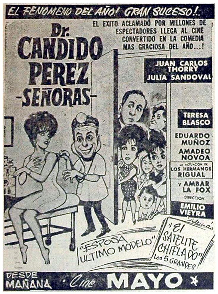 1962 - DR. CANDIDO PEREZ, SEÑORAS - Emilio Vieyra - (EL LITORAL, Lunes 1 de Abril de 1963)