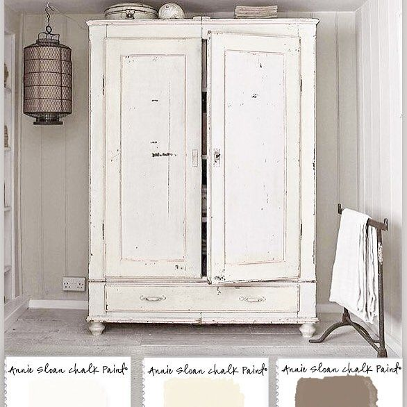 If you love white..... #Colorways #ChalkPaint #AnnieSloan